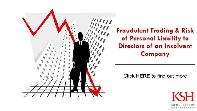 Fraudulent Trading & Risk of Personal Liability